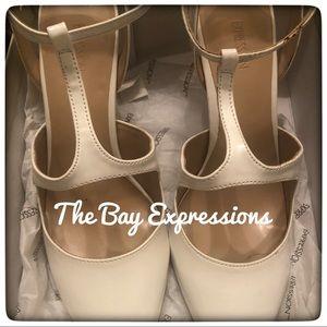 The Bay Express Cream Color Pumps